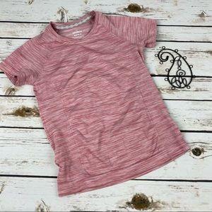 Umbro Athletic Shirt 7/8 Girls Heathered Pink